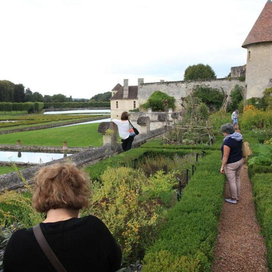 Visite au Domaine de Villarceaux