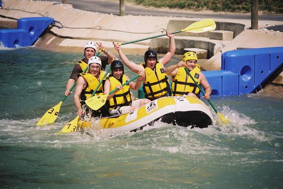 Rafting à l'Ile de Loisirs de Cergy-Pontoise